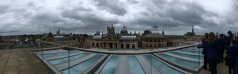 Roof of the Bodleian Library