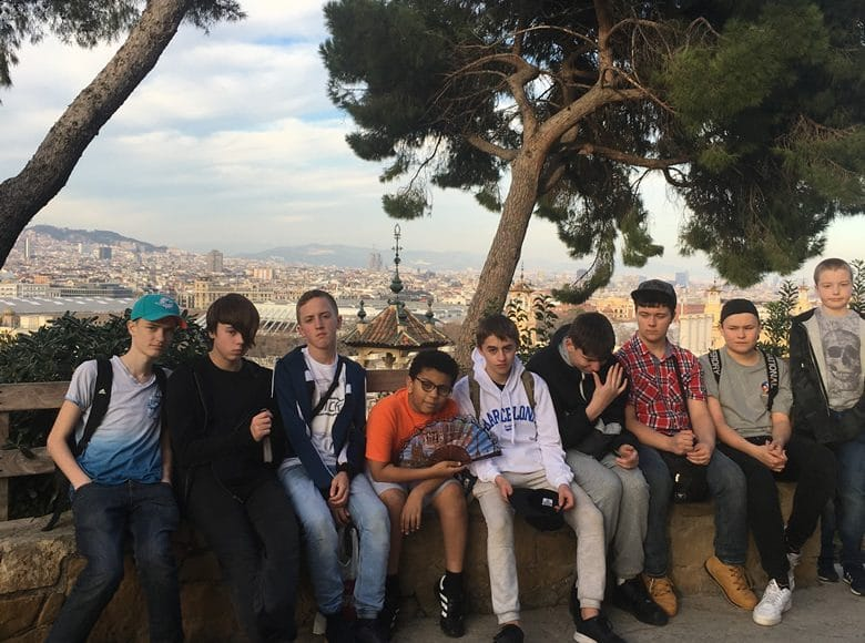 Students in Barcelona