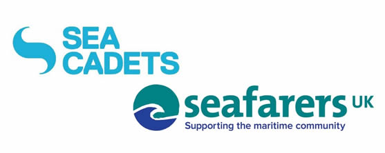 Sea Cadets and Seafarers logos